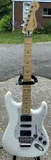 2018 Fender Player Stratocaster HSS With Floyd Rose White Fat Strat EMG