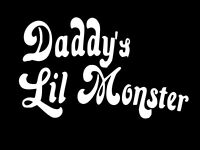 DADDYS LIL MONSTER Harley Quinn Vinyl Decal Car Sticker Wall CHOOSE SIZE COLOR