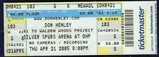 Don Henley Silver Spurs Arena Ticket April 21 2005 Free Shipping