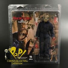 "Friday the 13th V JASON Voorhees 8"" RETRO Clothed (ROY) Action Figure NECA!"