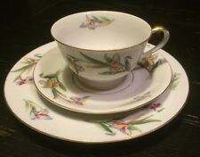 Antique Japan Viceroy Dunsmuir China Dinnerware Cup Saucer Dessert Plate*