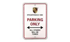 Genuine Porsche Porsche Parking Only Sign Pna-701-001-00