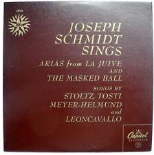 JOSEOH SCHMIDT SINGS 10''  L8062