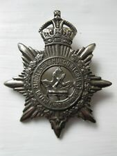 Rare Vintage Ww2 Middlesex & Huron Regiment Cap Badge Pin Wwii Era