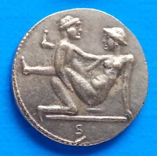 Ancient Rome Tessera Spintriae Erotic Token Roman Sex Coin Position VIII.