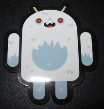 "ANDROID DROID Yeti robot logo Sticker 2.5"" Google andrew bell"