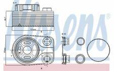 NISSENS Radiateur d'huile pour NISSAN QASHQAI 90705 - Pièces Auto Mister Auto