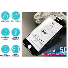 3X 5D Full Glue Edge To EdgeTempered Glass Screen Protector For Apple iphone 6