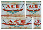 ACE HARDWARE STORE SIGNS HO SCALE WATERSLIDE BUILDING DIORAMA LAYOUT SIGNS HO100