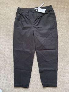 Asos Black Maternity Pants Size 12