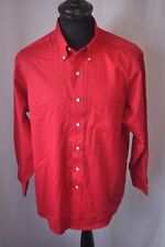 Ralph Lauren Chaps red shirt size large classic