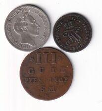 Mecklenburg-Strelitz  Münzen 1793-1872 mit 4 Schilling 1847 nsw-leipzig