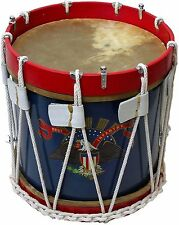 "CIVIL WAR DRUM SDC AMERICAN EAGLE COLONIAL MARCHING MEDIEVAL 14"" SNARE"