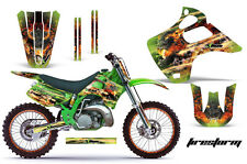KAWASAKI KX 125/250 Graphic Kit AMR Racing # Plates Decal Sticker Part 92-93 FSG