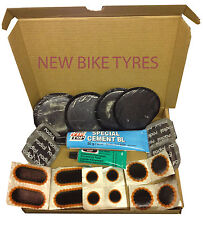 REMA TIP TOP TYRE INNER TUBE PUNCTURE REPAIR KIT PATCHES GLUE CAR VAN BIKE TRUCK