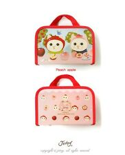*Party Favor* AUTH Jetoy Handy Pouch/ Pencil Case/ Cosmetic Pouch- Peach Apple
