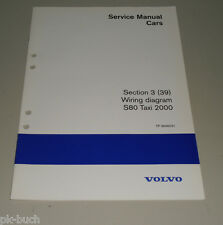 Wiring Diagrams / Schaltpläne Volvo S 80 Taxi 2000
