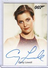 James Bond 50th Anniversary Carey Lowell auto card