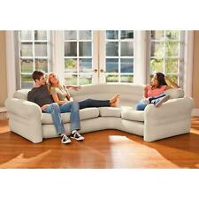 Intex Inflatable Corner Living Room Sectional Sofa Couch Furniture 101x80x30