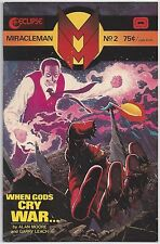 Miracleman #2 (Oct 1985, Eclipse) Moore / Leach [When Gods Cry War...] VF/NM