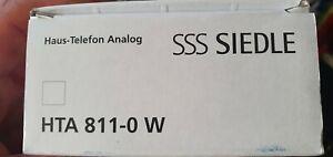 Siedle HTA 811-0 W Haustelefon analog Neu !!!