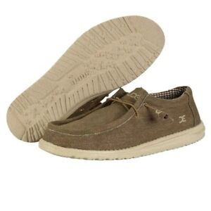 Hey Dude Wally Nut Men's Shoes Comfortable Lightweight Slip On Casual Shoes