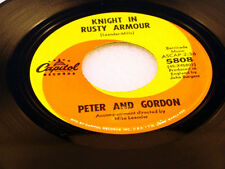 PETER & GORDON - Knight In Rusty Armour / The Flower Lady -  1966 VG+/VG++