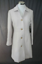 NEW J.CREW LADY DAY COAT 14 $378 THINSULATE ANTIQUE LINEN 49622 IVORY