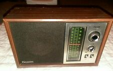 New ListingVintage Panasonic Fm-Am Radio Re-6286 Made In Japan Excellent Condition Working