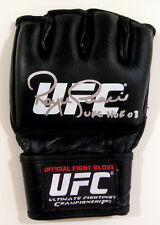 Royce Gracie Autographed Signed Ufc Mixed Martial Arts Glove Asi Proof