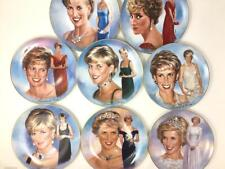 Princess Diana A Woman Of Style Set of 8 Plates Bradford Exchange By J. Griffin