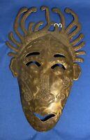 vintage desrosiers p.r. metal mask