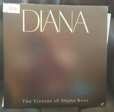 Diana the Visions of Diana Ross - LaserDisc - TOLW-3152 - NTSC JAP - Works fine