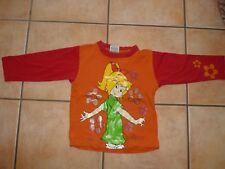 BIBI BLOCKSBERG - 110 - Langarm Shirt Pulli - Hexe - Glitzer Blumen Zauberei