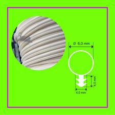 Silikonschlauchdichtung-Fensterdichtung 8mm Kopf Ø 3mm Nut SK-418