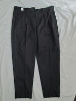Mens Pants uniform Blue Gray Black Khaki Green 28 29 30 31 32 33 34 36 38 NEW