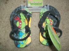 NWT Toddler Boys Ninja Turtles Green Black Sandals size 5-6