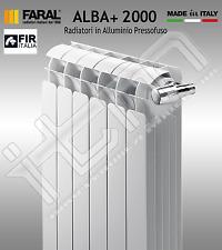 Radiatore Alluminio FARAL serie ALBA+ int. 2000 (prezzo/elemento)