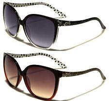 Gradient Plastic Frame Oval 100% UV400 Sunglasses for Women
