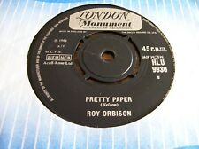 Roy Orbison,Pretty Paper/Summer Song (1964)
