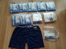 10 Pair Lupo Men's Size XXL/XG  Underwear Briefs Boxers MICROFIBER NWT