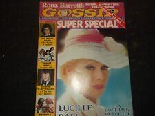 Vintage CELEBRITY Magazine Rona Barrett?s GOSSIP/Summer1977/LUCILLE BALL Special