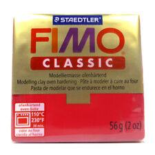 Staedtler Fimo-Classic 29 Modelliermasse karmin zum Basteln NEU! #