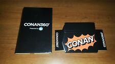 CONAN360 VR Viewer Conan O'Brien 360 Virtual Reality Goggles Team Coco TBS ATT