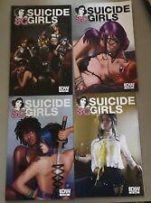 SUICIDE GIRLS 1 2 3 4 JETPACK VAR set Brea Grant Steve Niles first print IDW