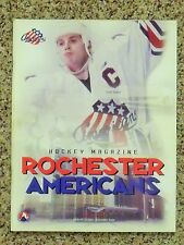 1998-99 Rochester Americans Scott Nichol cover [Buffalo Sabres] game program