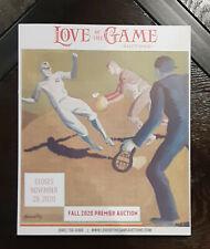 2020 Love Of The Game Premier Auctions Nov Sports Memorabilia Cards Catalog