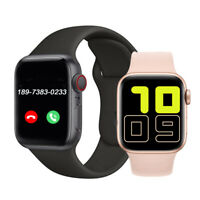 Smartwatch Bluetooth Uhr 2.5D HD Display Android iOS Samsung iPhone Huawei IP68