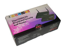 Draytek Vigor 2900vg BROADBAND Security WLAN Router voip neuwer 38