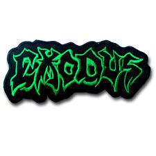 Exodus Green Patch Iron on Music Metal Band Heavy Hard Rock Metal Badge Sew MC